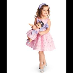 American Girl Blossoms and Bows Dress 7